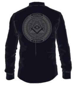 «Герметическая обитель» рубашка. Сакральная одежда для мужчин